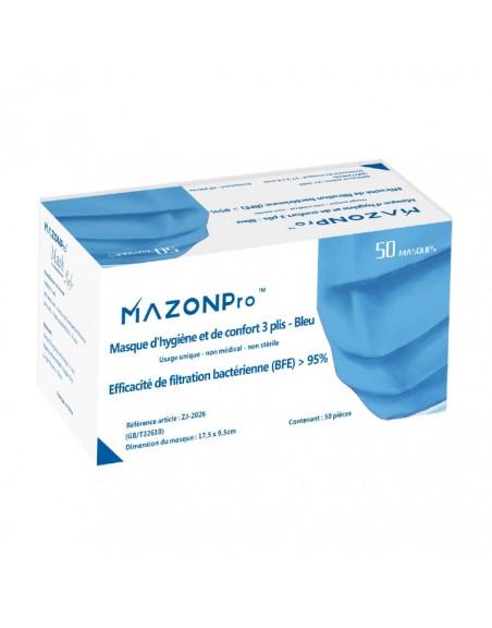 Masque respiratoire filtrant à usage non médical jetable packaging