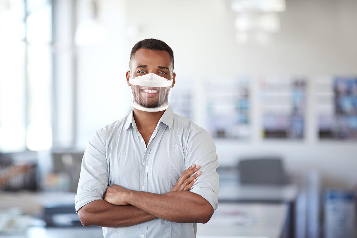 Faisons le choix du masque transparent